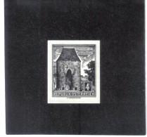 TAU1162  ÖSTERREICH 1960  SCHWARZDRUCK MICHL 1051  OHNE GUMMI Siehe ABBILDUNG - 1961-70 Unused Stamps