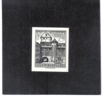 TAU1164  ÖSTERREICH 1960  SCHWARZDRUCK MICHL 1053  OHNE GUMMI Siehe ABBILDUNG - 1961-70 Unused Stamps