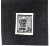 TAU1166  ÖSTERREICH 1960  SCHWARZDRUCK MICHL 1055  OHNE GUMMI Siehe ABBILDUNG - 1961-70 Unused Stamps