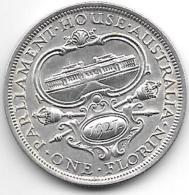 *australia Florin 1927   Km 31    Xf+ Catalog Val 100,00$ - Monnaie Pré-décimale (1910-1965)