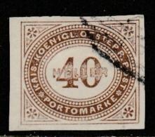 "Autriche  ""1899""  Scott No. J20  (O)  Postage Due / Imperf. - Impuestos"
