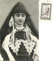 MAROC  MAROCCO  Chanteuse Berbére  Berber Singer  Nice Stamp - Costumes