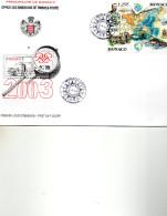 FDC MONACO  2003   CZRTES TP   N° YVERT  2301/2 - FDC