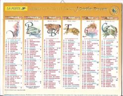 CALENDRIER - ALMANACH DU FACTEUR DE L´AN 2000 - Département 75-92-93-94 - Calendarios