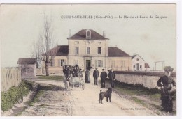 Côte D´Or - Cessey-sur-Tille - La Mairie Et école De Garçons - Frankrijk