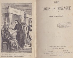 ##Saint LOUIS De GONZAGUE## Par R. GILLET. -1874-  Libr. J. LEFORT, LILLE/PARIS. - Books, Magazines, Comics