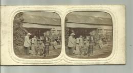 Anciennephoto Stereoscoop - Magazijn/winkel  - Rare - Stereoscopio