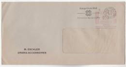 1966 SWITZERLAND COVER SLOGAN Pmk  WORLD HUNGER SWISS FOREIGN AID , Meter Stamps - Switzerland