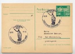 HERKULES RATHAUSMANN  Dresden 1982 Auf DDR Postkarte P79 - Architettura