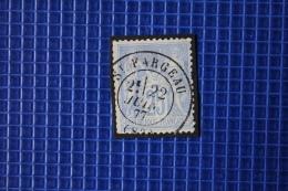 25c Type Sage Oblitération  Type 17 St Fargeau Yonne Jolie Frappe - 1876-1898 Sage (Type II)