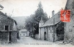 25 Byans Entrée Du Village La Route De Quingey - France