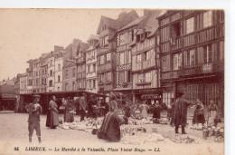 8525. CPA 14 LISIEUX. LE MARCHE A LA VAISSELLE PLACE VICTOR HUGO - Lisieux