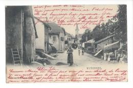 14264 -  Bursinel Envoyée En 1900 Attelage - VD Vaud