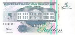 Suriname - Pick 136b - 5 Gulden 1998 - Unc - Surinam