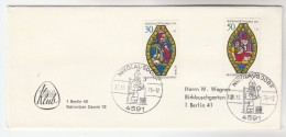 1976 NIKOLAUSDORF Germany CHRISTMAS ST NIcolaus EVENT COVER West Berlin Stamps - Christmas