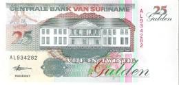 Suriname - Pick 138d - 25 Gulden 1998 - Unc - Suriname