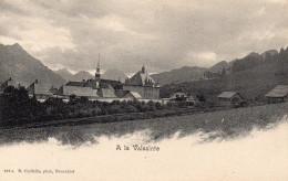 CHARTREUSE DE LA VALSAINTE A LA VALSAINTE    CPA E .CHIFFELLE  ,NEUCHATEL N°182C - FR Fribourg