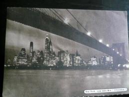 Motonave VULCANIA Usata 1953 Vista New York - Italia