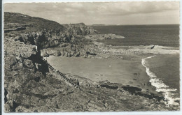 CPSM 35 - ROTHENEUF - LA PLAGE DU COTTAGE  PHOTO NOIR ET BLANC - Rotheneuf