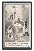 Doodsprentje Alfons EVERAET Goyck 1869 Priester Langdorp Bouseval (Bousval?) Budingen Noorderwijk 1916 - Images Religieuses