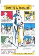 """Le Destin Exemplaire De Charles De FOUCAULD Buvard N° 10 -   """"Santé Sobriété"""" - Buvards, Protège-cahiers Illustrés"""