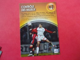 PANINI  Football DERBY TOTAL 2004/2005, Contrôle Des Milieux - Andere Kaartenspelen