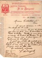 VP4331 - Musique - LAS - Lettre De Mr Pablo De BENGARDI à MEXICO Pour PARIS - Autographs