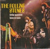 VINYLE  45 TOURS- LES ROLLINGS STONES-LITTLE QUEENIE- LOVE IN VAIN - - Vinyl Records