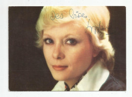 G-I-E , Cp , Spectacle , Artiste , Dédicacée ,Sophie DAREL , Vierge , Ed : Fan Club , Photo : W. Carone , Decca - Artistes