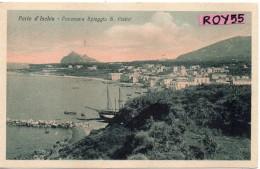 Campania-napoli-ischia Porto D'ischia Veduta Panorama Spiaggia S.piertro - Italia
