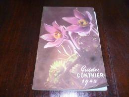 CB9 Guide Gonthier Printemps 1948 Avec Différents Courriers - Pub Ford V8 - Otros