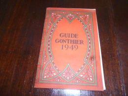 CB9 Guide Gonthier Printemps 1949 Avec Différents Courriers - Other
