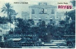 Campania-napoli-ischia Porto D'ischia Casina Reale Veduta Anni/20 - Italia
