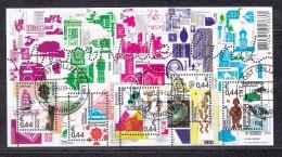 Nederland 2009 Nr 2651 Verzamelblok Mooi Nederland, Delft, Roosendaal, Oosterhout, Assen, Tilburg - Used Stamps