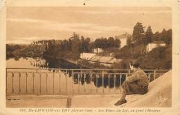 SAINTE LIVRADE SUR LOT - Les Rives Du Lot Au Fond L'hospice. - Non Classés