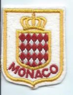 Ecusson De Principauté/Armoiries/ MONACO/ Années 90   ET84 - Ecussons Tissu