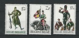 Belgie COB** 1293-1295 - Unused Stamps