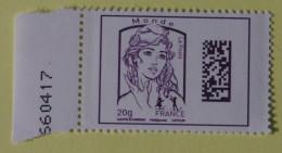 France 2016 Marianne Et La Jeunesse Adhésif - Timbre Monde Neuf - France