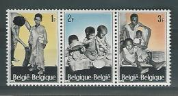 Belgie COB** 1410-1412 - Unused Stamps