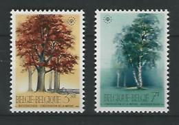 Belgie COB** 1526-1527 - Unused Stamps