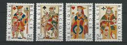 Belgie COB** 1695-1698 - Unused Stamps