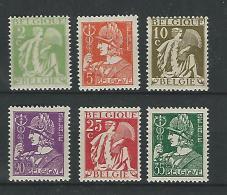 Belgie COB** 335-340 - Belgium