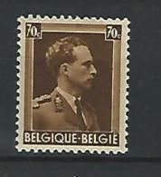 Belgie COB** 427 - 1936-1957 Open Collar
