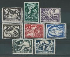 Belgie COB** 653-660 - Bélgica