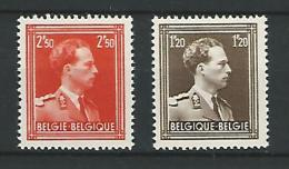 Belgie COB** 845-846 - Neufs