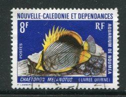 NOUVELLE CALEDONIE- Y&T N°387- Oblitéré (poisson) - New Caledonia