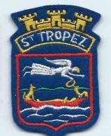 Ecusson De Ville /Saint Tropez/Armoiries/Var/ Années 90   ET88 - Ecussons Tissu
