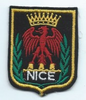 Ecusson De Ville /NICE/Armoiries/Alpes Maritimes/ Années 90   ET90 - Ecussons Tissu