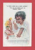 ET/51 COMIQUE SERIES N° 6134 A LITTLE WHITE ON A DARK SUBJECT UN PEU DE CLARTE SUR UN SOMBRE SUJET - Humour