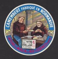Etiquette De Fromage  Camembert  -  Laiterie Du Moulin De Ver  à  Cérences  (50) - Fromage